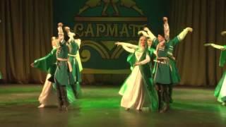 Чеченский танец  Ансамбль Сармат  Худ  рук  Эдуард Гугкаев