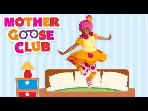 Five little Babies Jumping on the bed | Nursery Rhymes for Children | Baby Songs Mother Goose Club