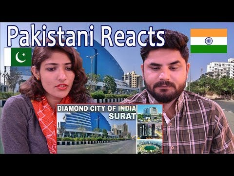 Pakistani Reacts To   Surat - Diamond City   Indian Surat - Diamond City