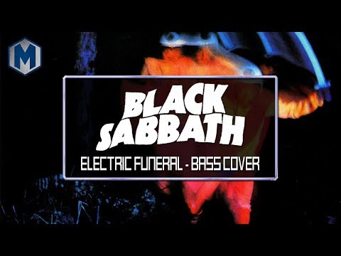 (Bass Cover) Black Sabbath - Electric Funeral (Play Along Tabs In Video)
