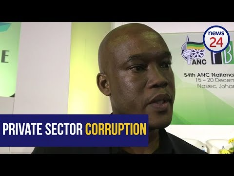 MultiChoice SA CEO on corruption in the private sector