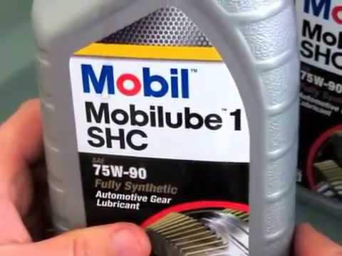 Видео распаковка масла Mobil Mobilube 75W-90