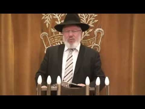 Rav Hershel Welcher on the