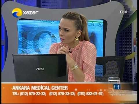 Ankara Medical Center - Sağlıqla - Xəzər TV - 11.09.2013