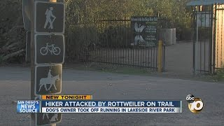 Hiker Attacked By Rottweiler On Trail