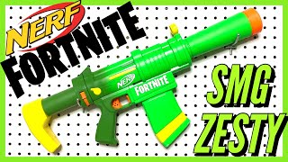 Nerf Fortnite SMG Zesty Review [4K]