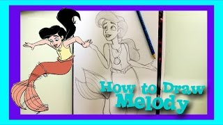 How to Draw MELODY from Disney