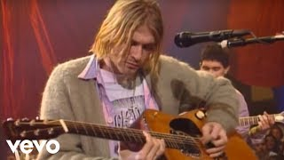 Kurt Cobain in MTV unplugged in 1993
