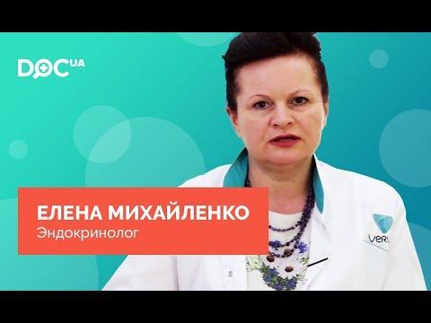 Михайленко Елена Юрьевна – врач-эндокринолог, Киев