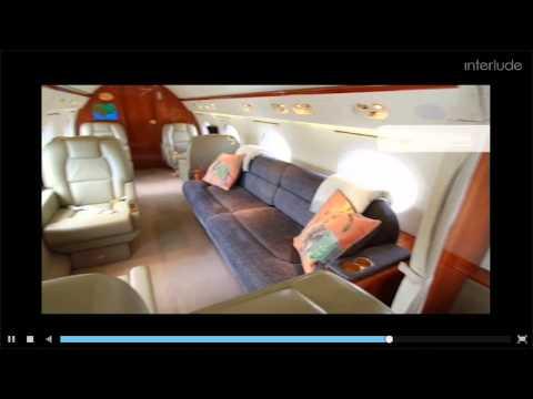 Inside a Billionaire's Gulfstream V