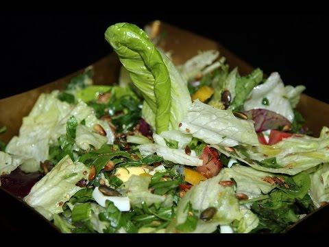 Салат с семечками/ Salad with sunflower seeds/Моя Dolce vita