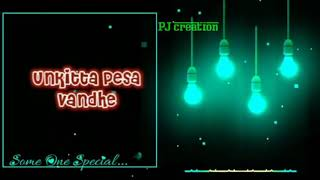 Adiye Pulla Unna Pathu Putteh song lyrics dedicated to all views in PJ creation subscribe now channe