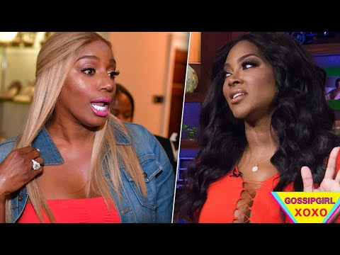 Nene Leakes was so close to putting them PAWS on Kenya Moore at Eva's baby shower