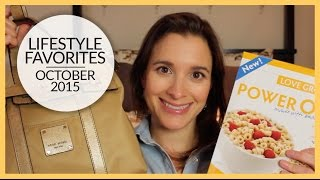 Lifestyle Favorites | October 2015