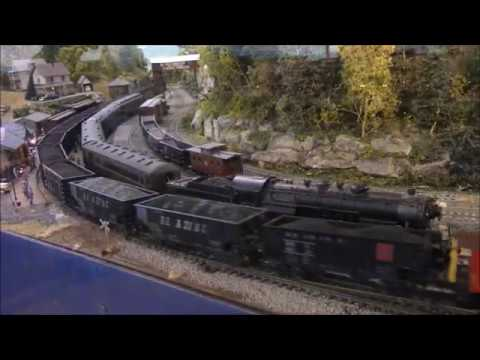 Friends of the Railroad Museum of Pennsylvania's HO Model Railroad