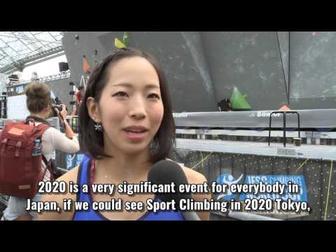 Interview with Akiyo Noguchi about the Olympic Games