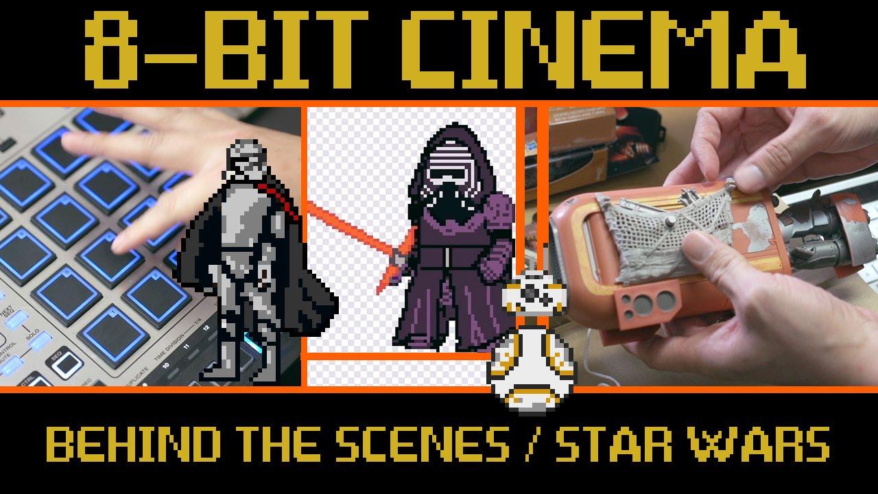 star wars the art of sprite building 8 bit cinema behind the scenes youtube. Black Bedroom Furniture Sets. Home Design Ideas