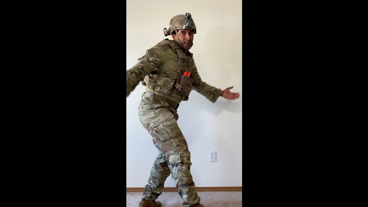 Touch It challenge U.S Army version (clean) #shorts