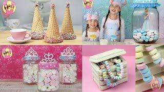 BEST OF DISNEY PRINCESS RECIPES Cinderella Rapuzel Aurora Belle Ariel
