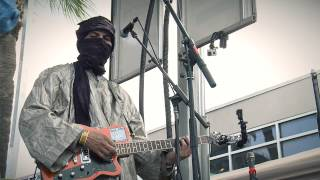 "Tinariwen performs ""Chaghaybou"" live at Waterloo Records during SXSW 2014"