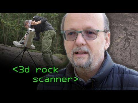 3D Rock Art Scanner - Computerphile