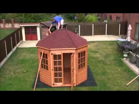 How To Build A Octagonal Summerhouse By Taylors Garden