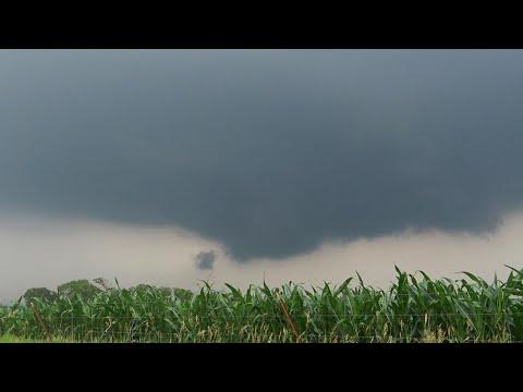 June 24, 2021 • Storms & Tornado Warnings near Marysville, Kansas
