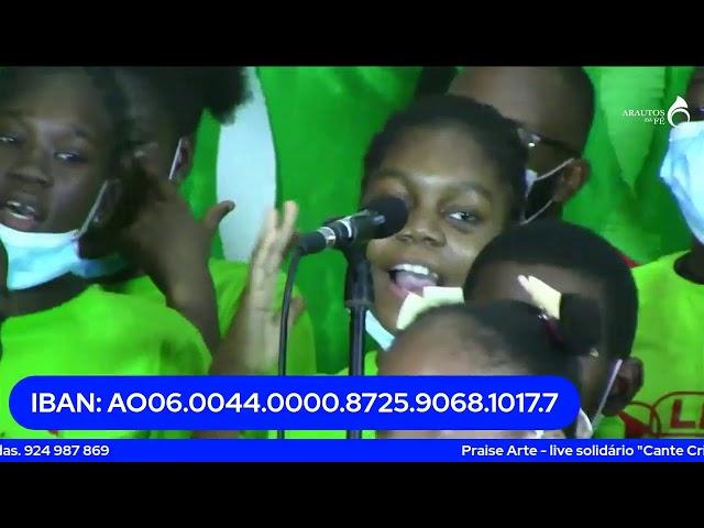 Praise Arte - live solidário Cante Criança