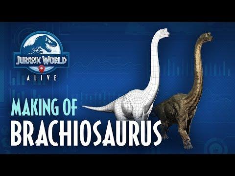 Jurassic World™ Alive | Making Of Brachiosaurus