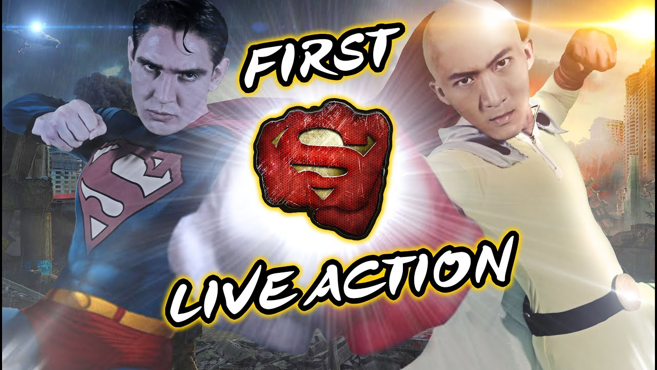 Download One Punch Man VS Superman in Real Life [Live-Action]