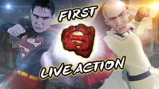 One Punch Man VS Superman in Real Life [Live-Action]