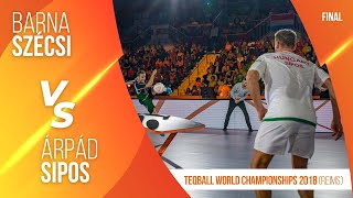 2nd Teqball World Cup - Singles Final (Barna Szécsi vs Árpád Sipos)