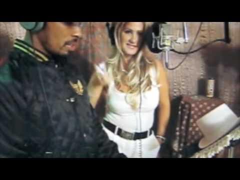 Kim Zolciak in the Studio with Dallas Austin