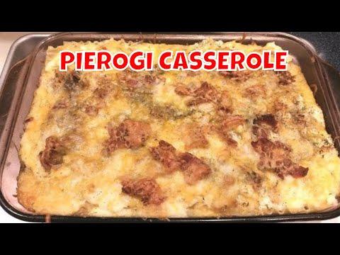 Pierogi Casserole -- PA Coal Region Comfort Food