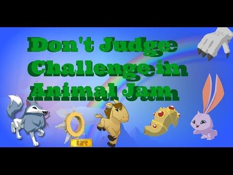 Don't Judge Challenge on Animal Jam