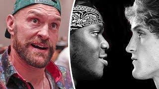 KSI vs Logan Paul 2 FANTASTIC FOR BOXING insists Tyson Fury