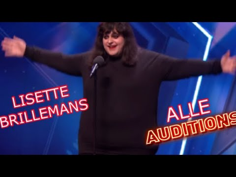 Lisette Brillemans l Alle audities l HOLLAND'S GOT TALENT �� #hollandsgottalant #lisette #brillemans