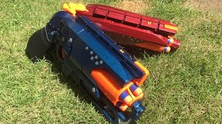 "Nerf Mod: ""Fire and Ice"" Revolvers by Drac"