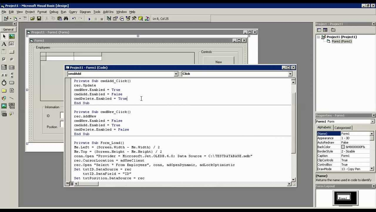 Computerized payroll system vb6 | free source code & tutorials.