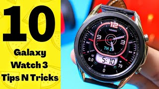 10 COOL Things To DO With SAMSUNG Galaxy Watch 3 !!!