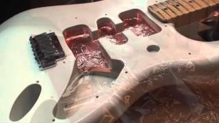 Repaint with automotive rattle cans: US Fender Strat - Part 5: DONE!