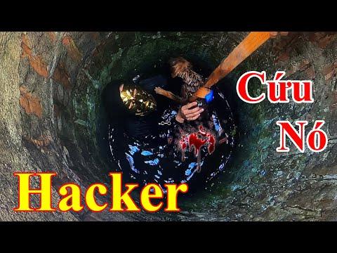 Hacker Chúa Mặt Vàng - Giải Cứu Chó Con Rơi Dưới Giếng | PHD Troll - TamMaoTv - Kiên Hư - Tân Paris