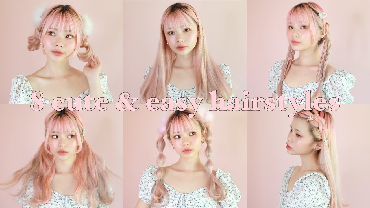 11 cute & easy hairstyles from japanese fashion magazines 🌸💕