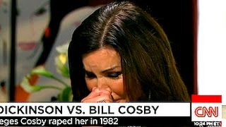 Janice Dickinson Breaks Down Discussing Cosby Rape