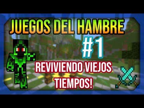 ► JUEGOS DEL HAMBRE #1 REVIVIENDO VIEJOS TIEMPOS | MINECRAFT