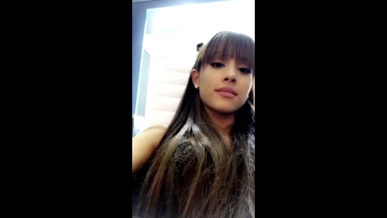Ariana Grande Snapchat Story 4 23 January 2017  YouTube - Hairstyle Names
