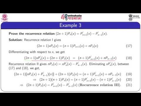 Recurrence relations (MATH)