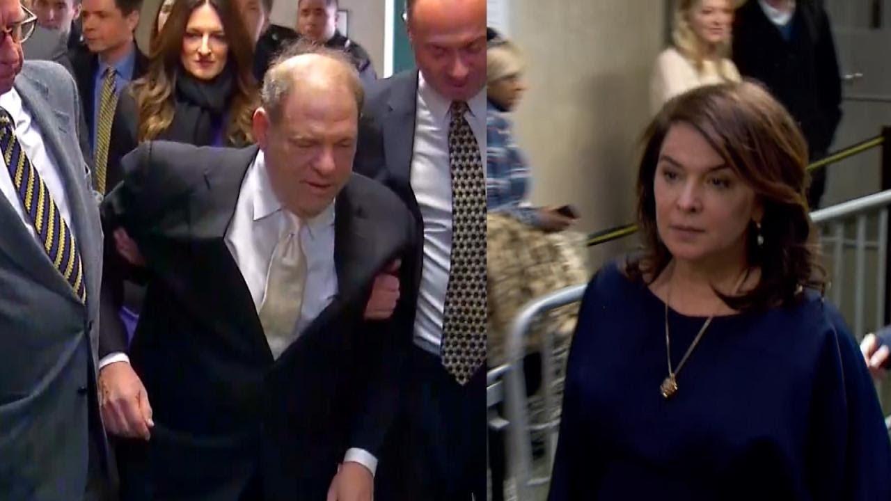 Annabella Sciorra testifies in court that Harvey Weinstein raped her ...
