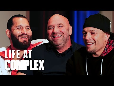 Complex interviews with Jorge Masvidal, Nate Diaz and Dana White