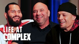 UFC 244 Who's The Baddest? Jorge Masvidal vs Nate Diaz! | #LIFEATCOMPLEX